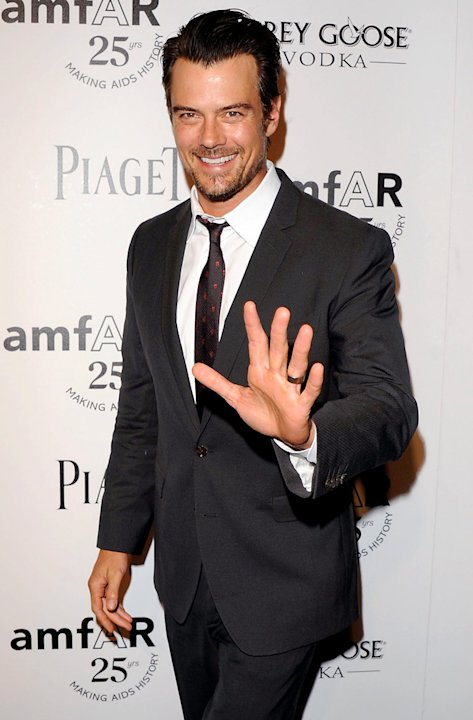 Josh Duhamel amfAR Inspiration Gala