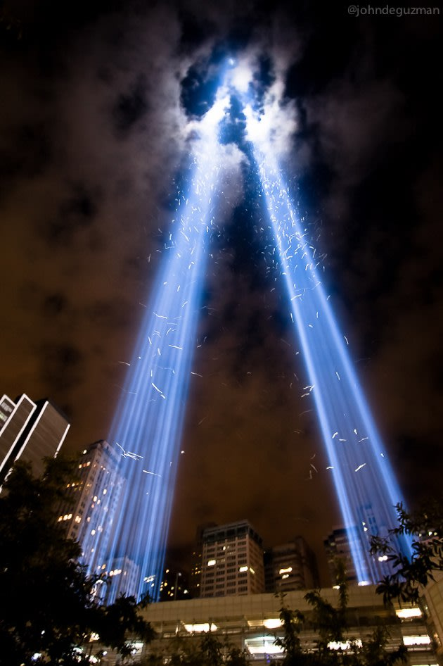 Year-old 9/11 memorial photo takes Twitter by storm, leaves its creator miffed