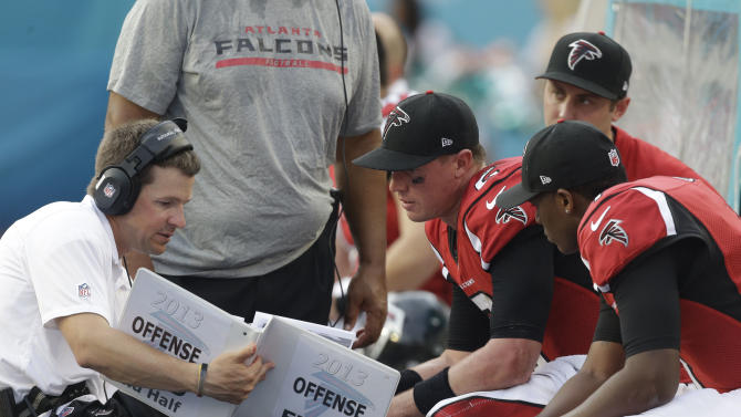 Falcons look a bit desperate after sluggish start