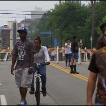 22 Blocks Of Franklin Avenue Shut Down For Open Streets