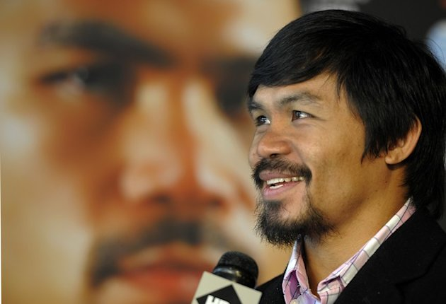 "Undefeated Junior Welterweight Champion Manny ""Pacman""  Pacquiao   AFP/Getty Images"
