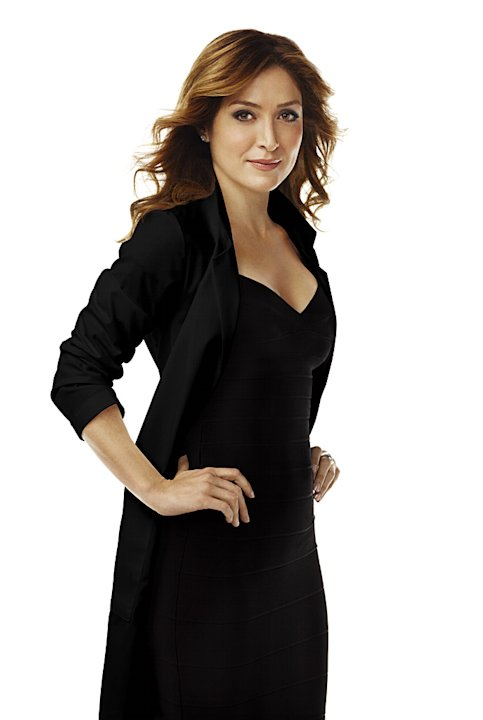 Sasha Alexander stars in &quot;Rizzoli and Isles.&quot; 
