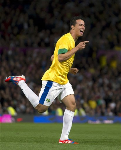 Damiao takes over Brazilian attack at the Olympics