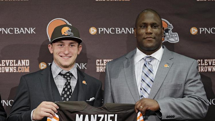 Browns owner Jimmy Haslam says Johnny Manziel is a backup quart…