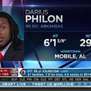 San Diego Chargers pick defensive tackle Darius Philon No. 192 in 2015 NFL Draft