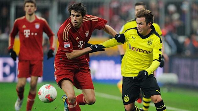 Bayern Munich and Borussia Dortmund
