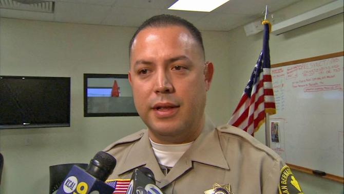 Deputy saves 7-year-old girl, 4 others from Victorville apartment fire