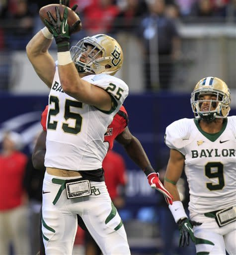 Baylor bowl eligible, 52-45 OT win over Texas Tech