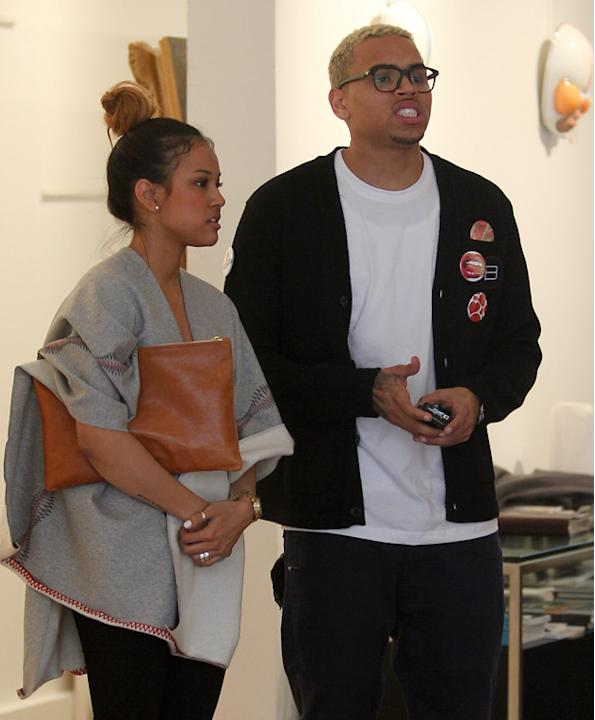 Celebrity splits 2012: Chris Brown's breakup with Karrueche Tran was when alarm bells began ringing for us. In his statement confirming the split, Chris revealed they'd clashed over his 'friendship' w