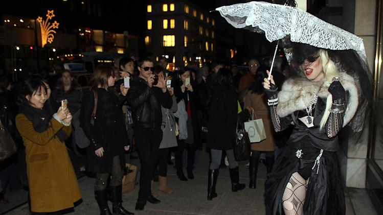 Lady Gaga Barneys
