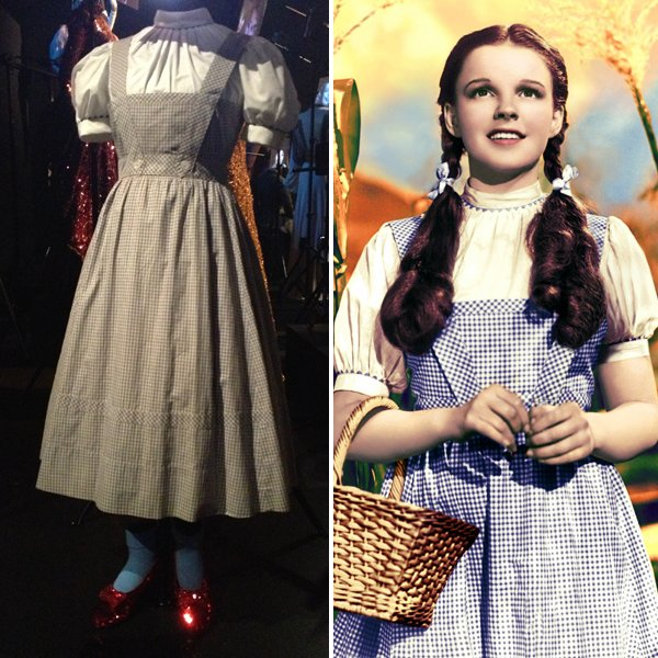 Dorothy (Judy Garland), The Wizard of Oz, 1939
