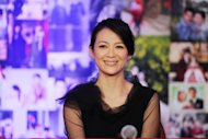 Chinese actress Zhang Ziyi, seen here in 2010, has sued Hong Kong's leading newspaper the Apple Daily and its sister weekly Next Magazine over reports that she prostituted herself with senior Chinese officials
