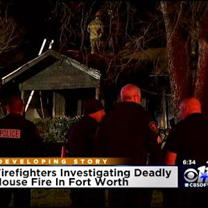 Man & Dog Killed In Fort Worth House Fire