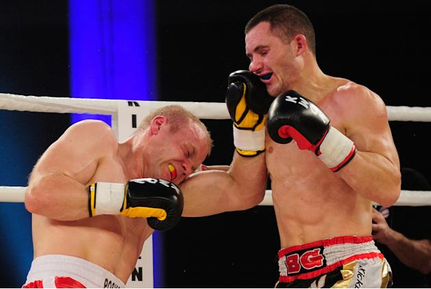 Simon Poskotin v Stathis Benov - WKU Super Middleweight World Championship