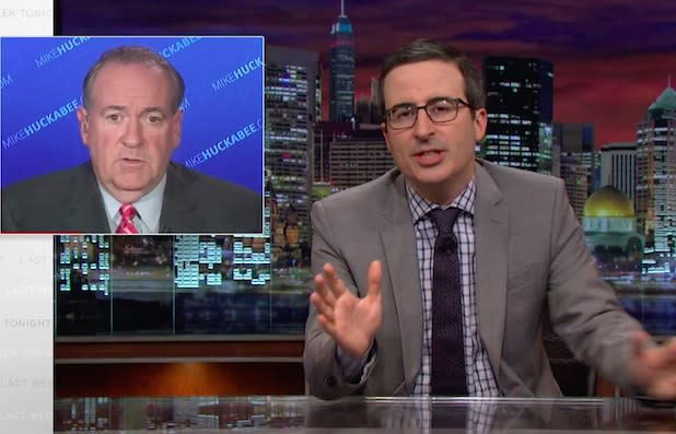 John Oliver Blasts Republicans for Using 'Mentally Ill People to Dodge' Gun Control After Oregon Shooting (Video)