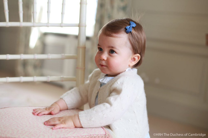Princess Charlotte Shows Off Her Walking Skills In New Birthday Photographs