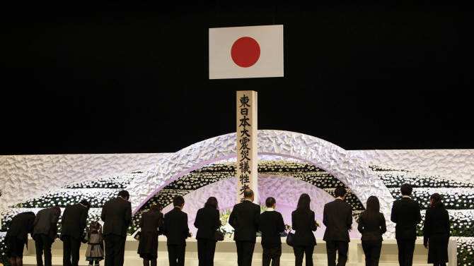 Recovery slow as Japan marks 2 years since tsunami