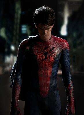 Columbia Pictures releases the first image of Andrew Garfield as Spider-Man. -- John Schwartzman