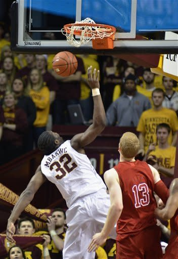 Williams, Minnesota bounce back vs. Nebraska