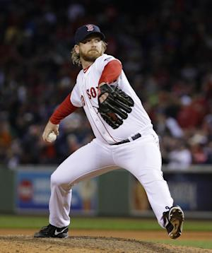Red Sox P Dempster won't play in 2014