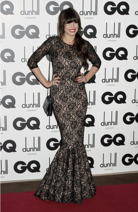 British model Daisy Lowe arrives for the GQ Men of the Year Awards at a central London venue, Tuesday, Sept. 6, 2011. (AP Photo/Jonathan Short)