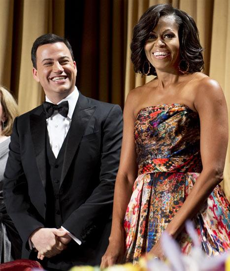 Michelle Obama's Stunning White House Correspondents' Dinner Look: All the Details!
