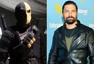 Deathstroke, Manu Bennett | Photo Credits: The CW, Alberto E. Rodriguez/Getty Images