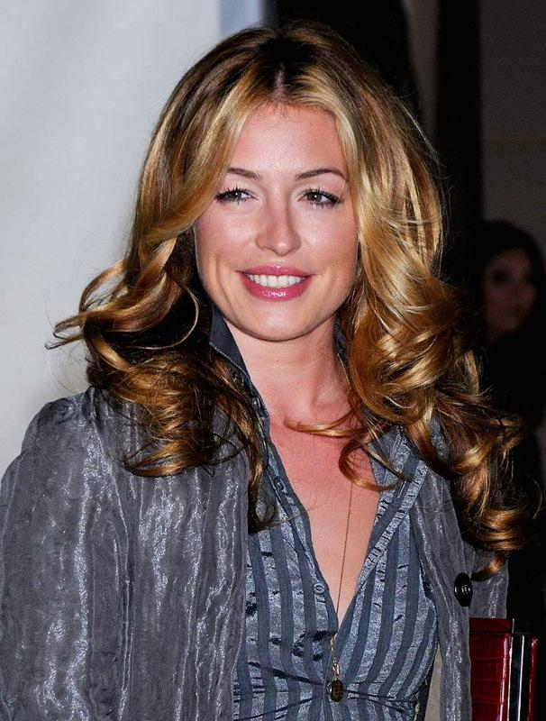 "Actress Cat Deeley arrives at the ""Vanity Fair Portraits: Photographs 1913-2008"" Exhibit Grand Opening at LACMA on October 21, 2008 in Los Angeles, California. Cat Deeley"