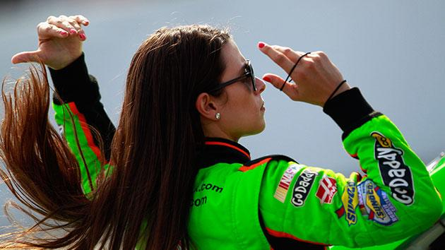 Danica Patrick won't appear nude in ESPN's Body Issue now, but maybe someday