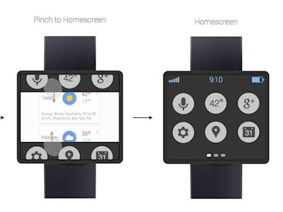 google smart watch concept