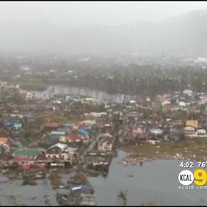 SoCal Filipinos Nervously Await For Word From Relatives In Typhoon-Ravaged Philippines