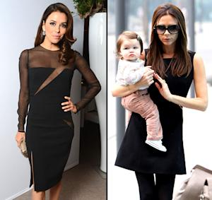 "Eva Longoria: I'll Be a ""Great"" Godmother to Harper Beckham"