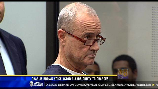 Charlie Brown voice actor pleads guilty to charges