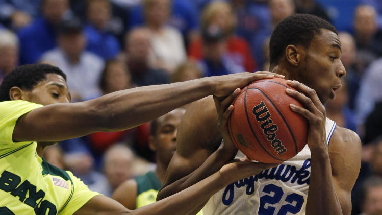 Kansas freshman Wiggins still seeking his place