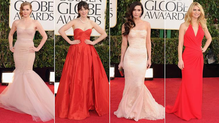 Golden Globes Red Carpet Arrivals Mega