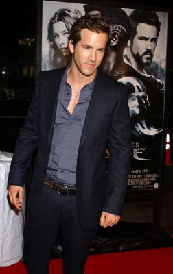 Ryan Reynolds at the Hollywood premiere of New Line Cinema's Blade: Trinity
