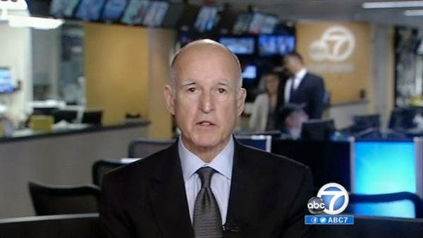 Gov. Jerry Brown discusses Proposition 30