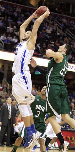 Ohio outguns Buffalo 77-74