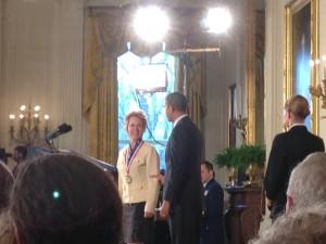 President Obama Awards National Medals of Science and Technology at the White House