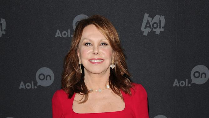 """Actress Marlo Thomas attends AOL's web series """"NewFront"""" at Moynihan Station on Tuesday April 30, 2013 in New York. (Photo by Evan Agostini/Invision/AP)"""