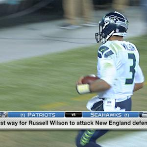 Best way for the Seattle Seahawks to attack the Patriots?