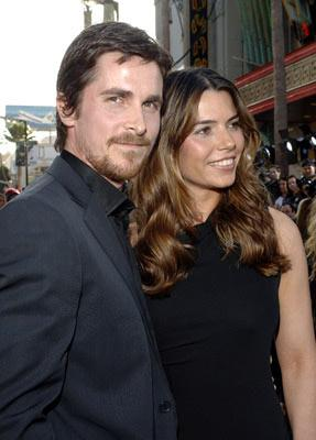 Christian Bale at the Hollywood premiere of Warner Bros. Pictures' Batman Begins