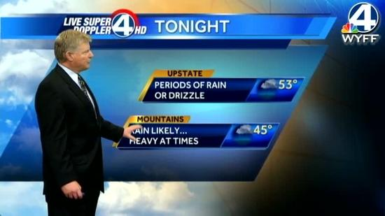 John's forecast for Monday, January 14, 2013