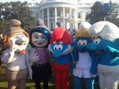 The Smurfs™ Participated in the 2013 White House Easter Egg Roll