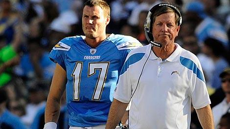Philip Rivers and Norv Turner