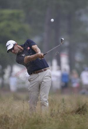 A Father's Day surprise for Kisner's dad at Open