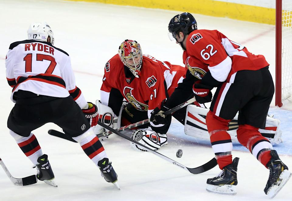 Karlsson, Spezza lead Senators over Devils 5-2