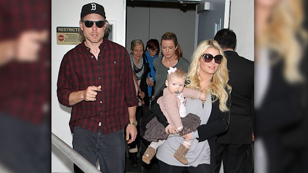 Does Jessica Simpson Look Pregnant?