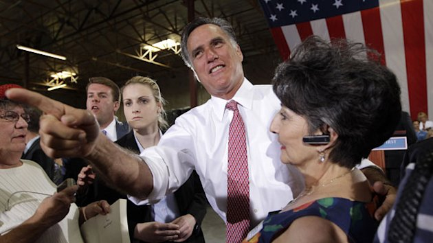 Democrats Hit Mitt Romney for Comment on Teachers, First Responders (ABC News)