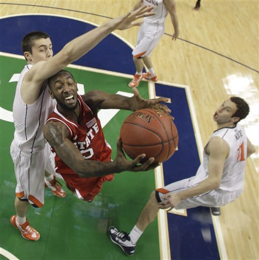 NC State cruises past Virginia 75-56 in ACCs